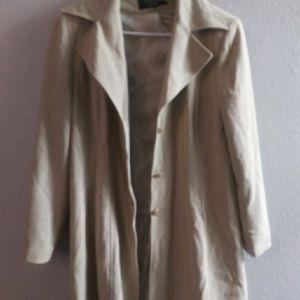 Over coat. Fall light winter